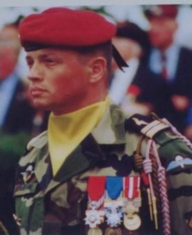 Le Colonel BAILLAUD Chef de Corps 1999 / 2001
